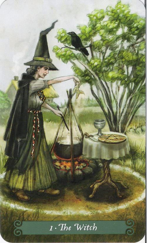 The Green Witch Tarot | Таро Зеленой Ведьмы