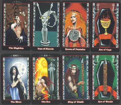The Vampire Tarot | Таро Вампиров
